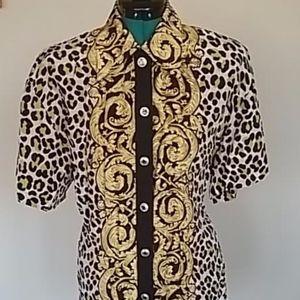 Vintage 1980s Dina Bar-El blouse